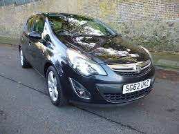 vauxhall corsa black used 2012 vauxhall corsa sxi ac 5dr for sale in welling kent