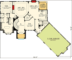 ranch style floor plans with basement pretty ranch style house plans with basement plan 89856ah home with