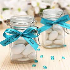 jar favors mini square glass jar favors favor bottles favor packaging