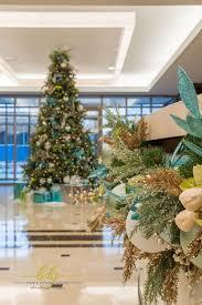 corporate color in preston center baker christmas design