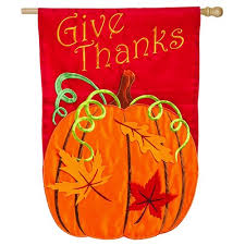 thanksgiving house flags give thanks fall and thanksgiving house flag thanksgiving house