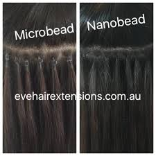 microbead extensions nano bead hair extensions smallest micro rings on the market sydney