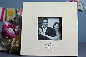 wedding gift photo frame susabella personalized wedding gift frame gift boxed ready