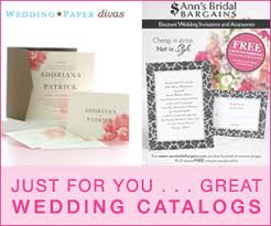 wedding catalogs wedding favor everything you need for a wedding
