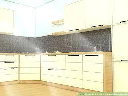 Replacing Kitchen Backsplash Easy Way To Install Kitchen Backsplash Video Youtube Subscribed