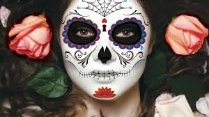 sugar skull temporary tattoos for halloween day of the dead by