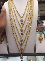 gold haram sets multi string haram set boutiquedesignerjewellery