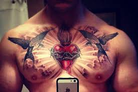 37 inspirational chest tattoos for tattoos beautiful