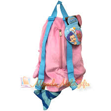 bubble guppies molly plush backpack