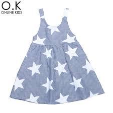 dress pattern brands girls star dress 2017 new fashion brand baby kids clothes stripe