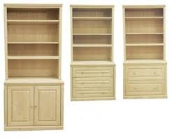 unfinished bookcases with doors u2014 doherty house