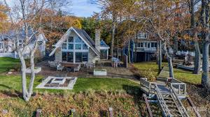 waterfront a frame homes for sale in michigan