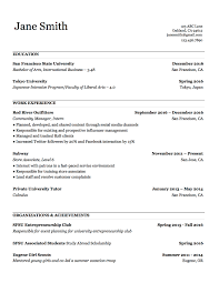 Best Resume Typeface by 3 Actually Free Resume Templates Localwise