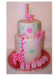giraffe baby shower cakes my cake by pink giraffe baby shower cake
