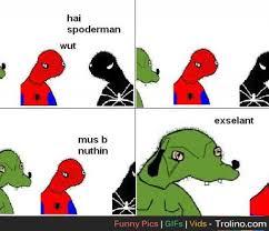 Spoderman Memes - deluxe spoderman memes spoderman dolan memes kayak wallpaper