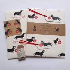 dachshund christmas wrapping paper 100 christmas gift wrap set christmas gift wrap set