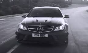 mercedes c63 amg black series price mercedes c63 amg black series goes monochrome tears it up in