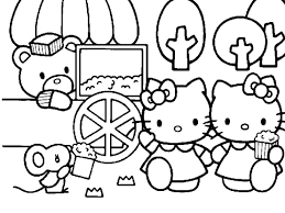 620 crafts kitty color images coloring