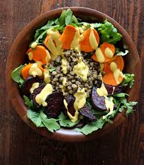 Salad Thanksgiving Detox Salad With Turmeric Lime Dressing The Bay Leaf Kitchen
