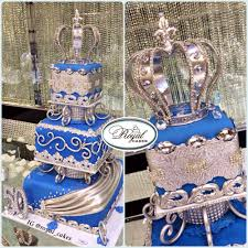 silver and royal blue wedding royal blue u0026 silver birthday cake for a king www royalcakesla com