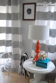 curtains white grey inspiration whote green striped and design