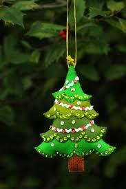 Christmas Tree Decoration Craft Ideas - interesting design ideas christmas tree ornament stunning