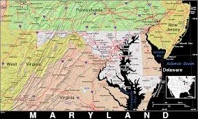 Map Of Md Md Maryland Public Domain Maps By Pat The Free Open Source