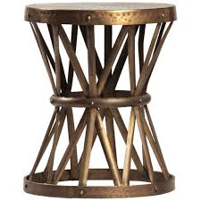 Outdoor Metal Side Table Dovetail Metal Side Table Candelabra Inc