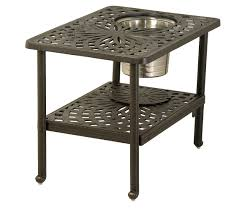 Hanamint Outdoor Furniture Reviews by Hanamint Mayfair 22x32 Ice Bucket Table All Things Barbecue