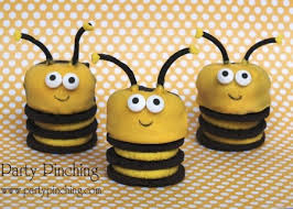 bumble bee party favors bee theme birthday party baby shower ideas cookies food