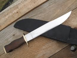 Made In Usa Kitchen Knives by Fine Custom Made In The Usa Bowie Knife 5160 Steel Slim 10