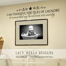 Laundry Room Decorations Bless This Home And All Who Gather Here Vinyl Lettering Home Decor