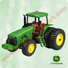 deere tractor hallmark ornaments at hooked on