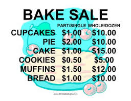 11 best fundraising images on pinterest bake sale church