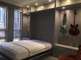 Wall Of Closets For Bedroom Custom Wall Bed And Murphy Bed Design Chicago Closets Cabinets