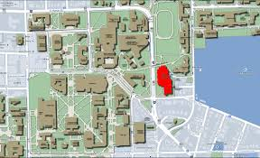 Central Michigan Campus Map by Central Campus Map Umich
