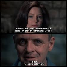 Silence Of The Lambs Meme - clarice and hannibal silence of the lambs pinterest film 83438