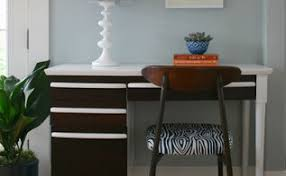 Midcentury Modern Desk - how to get the mid century modern look from an old desk hometalk