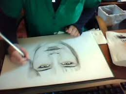 my first dry brush painting sketch youtube