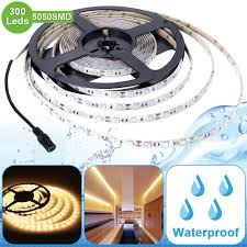 warm white 5050 smd 12v waterproof led light strips for christmas