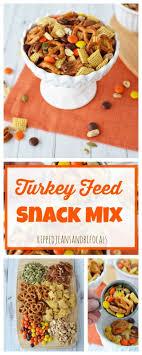 turkey feed snack mix ripped bifocals