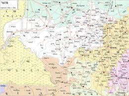 map of rajkot nri division about gujarat gujarat maps
