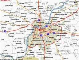map of ky and surrounding areas kentucky city map holidaymapq