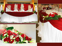 Red Wedding Decorations The Dream Wedding Inspirations Some Wedding Decoration Ideas Pictures