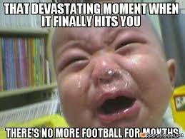 Football Season Meme - off season memes