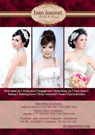 wedding dress surabaya joan jeannet bridal beauty
