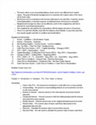 fundamentals of corporate finance exam 1 review fundamentals of