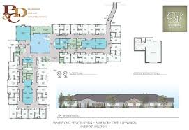 Assisted Living Facility Floor Plans Memory Care Assisted Living Floor Plans View Memory Care Building