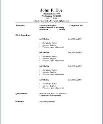 resume format in word file free download basic resume template word lidazayiflama info