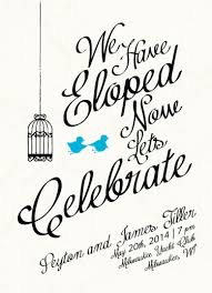 elopement invitations wedding invitations run away elopement at minted
